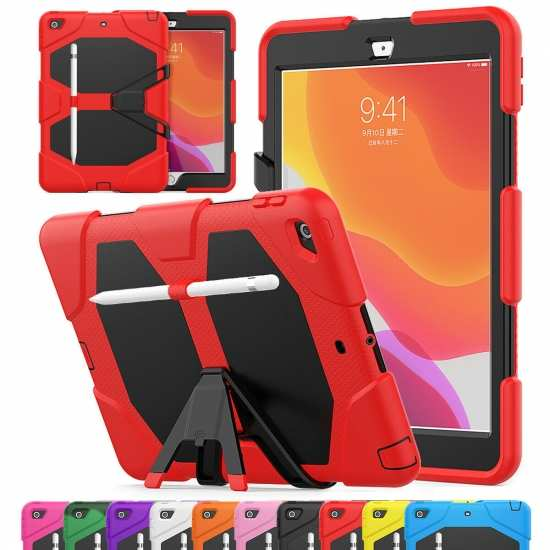 "For iPad 10.2"" 8th 7th Gen Case Shockproof Tough Stand Cover"