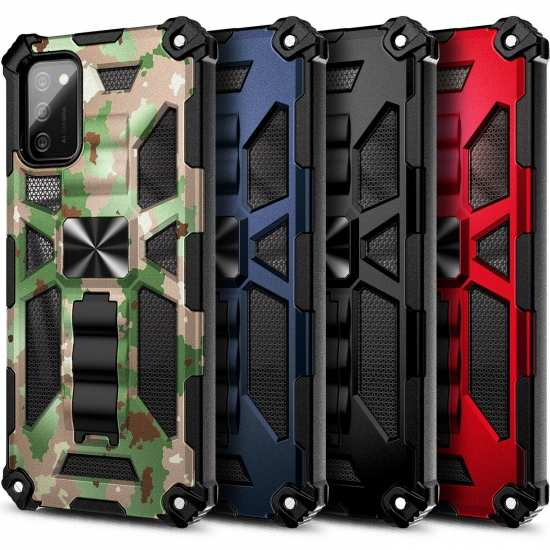 For Samsung Galaxy A32 A52 A72 5G Case Rugged Amour Cover with Built-in Kickstand