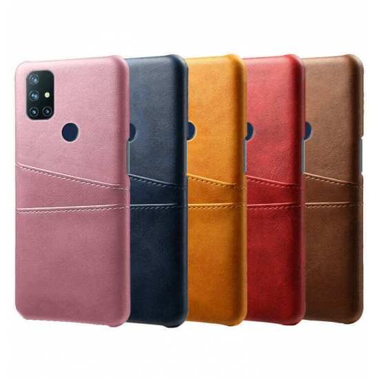 For OnePlus Nord N10 5G Wallet Case Leather Card Slot Phone Cover