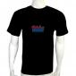 equalizer led shirts,HZ Flash LED DJ Music Activated Equalizer EL T-shirt