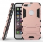 Tough Protective Kickstand Hybrid Armor Slim Skin Cover Case for iPhone 7 Plus 5.5inch - Rose gold