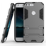 Slim Armor Kickstand Tough Dual Layer Protective Case For Google Pixel 5.0inch - Gray