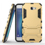 Tough Protective Hybrid Armor Slim Kickstand Cover Case for Samsung Galaxy On5 (2016) - Gold