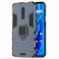 For OnePlus 7 Pro Case Rugged Armor Matte Hard Magnet Ring Holder Stand Cover