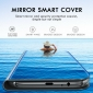 For Samsung Galaxy A71 5G UW A11 A01 21S A51 Smart View Mirror Leather Flip Stand Case Cover