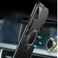 For iPhone 12 Pro Max / 12 Mini Rugged Armor Shockproof Ring Holder Case Cover