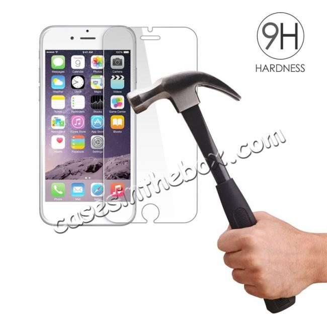 discount 9H 2.5D Premium Real Tempered Glass Guard Screen Protector Film For iPhone 6 Plus/6S Plus 5.5 Inch
