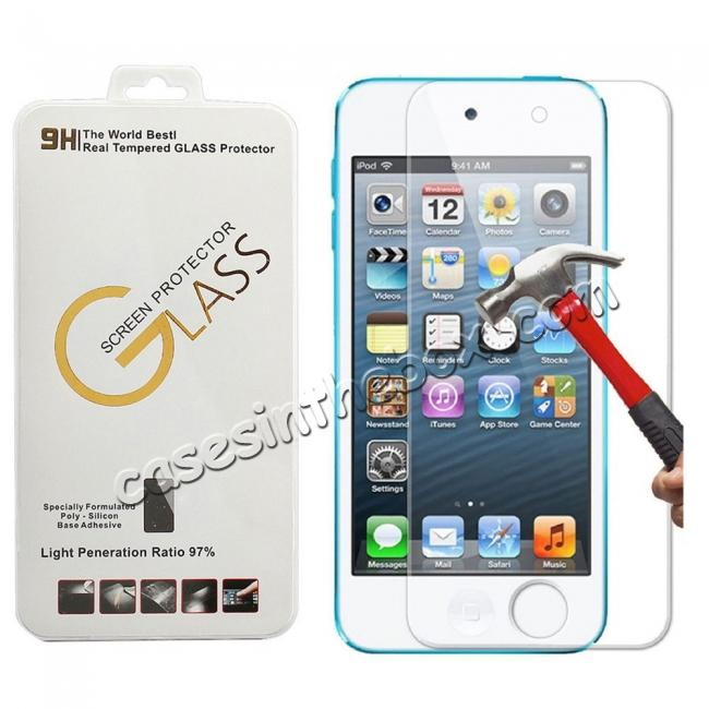 wholesale 9H Tempered Glass Screen Protector for Apple iPod Touch 5 6 7 Gen
