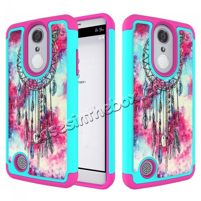 finest selection 44d4f 0a15a Tough Protective Rubber Bumper Shockproof Hybrid Phone Case For LG Aristo  MS210 - Dream Catcher