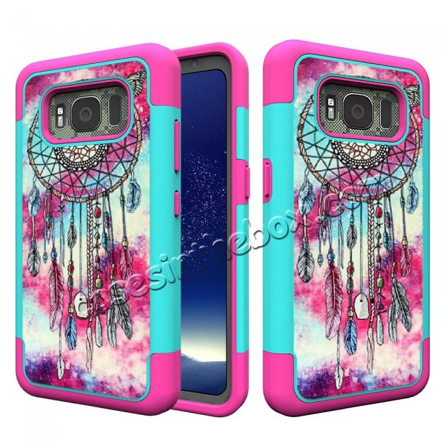 promo code a8505 8abc1 Hybrid Dual Layer Armor Defender Protective Case Cover For Samsung Galaxy  S8 Active - Dream Catcher