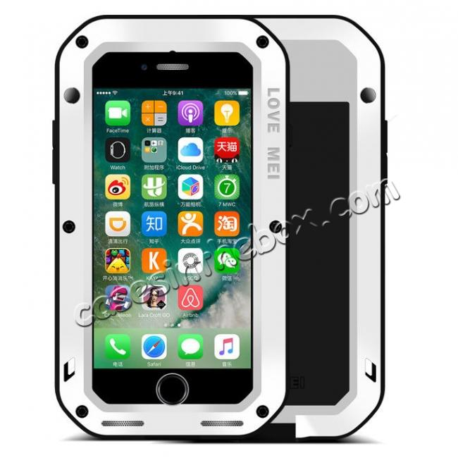 top quality Waterproof Aluminum Gorilla Metal Cover Case For iPhone 6 6S 7 7 Plus 8 8 Plus X XR XS 11 Pro Max + FREE SHIPPING
