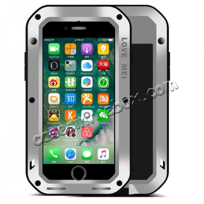 best price Waterproof Aluminum Gorilla Metal Cover Case For iPhone 6 6S 7 7 Plus 8 8 Plus X XR XS XS Max + FREE SHIPPING