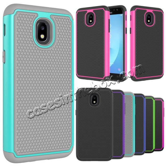 pretty nice 22080 890b9 For Samsung Galaxy J7 2018/J7 Aero/J7 Aura/J7 Top/J7 Crown/J7 Refine/J7  Eon/J7 Star Impact Hybrid Hard Back+TPU Armor Defender Shockproof Slim Cover