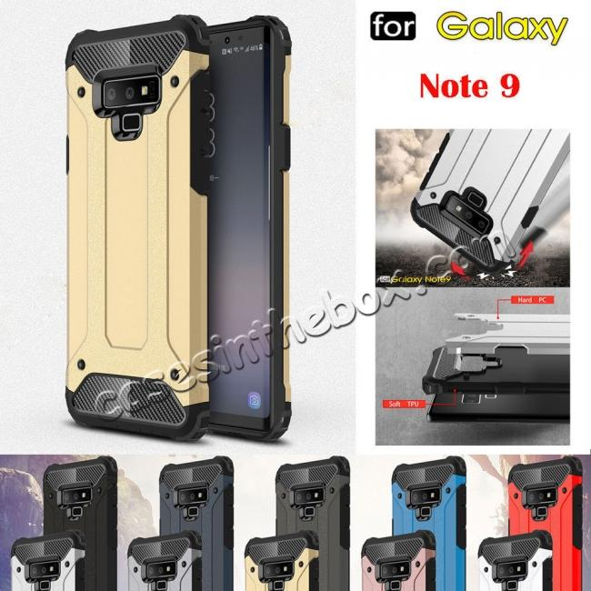 7bb6b1cf246 wholesale For Samsung Galaxy Note 9 Rugged Hybrid Armor Shockproof  Protective Cover Case