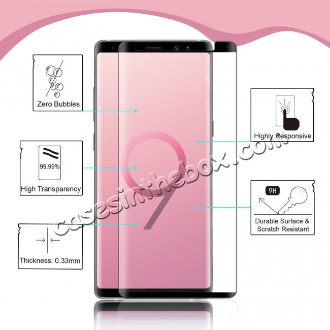 discount For Samsung Galaxy 3D 9H Full Cover Tempered Glass Screen Protector Film
