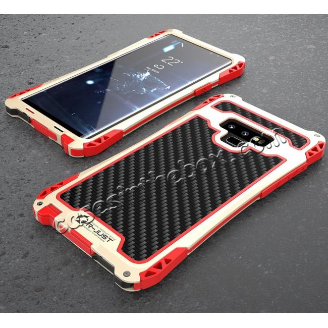 discount Case For Samsung Galaxy Note 9 S9 Plus S10 Plus Shockproof Dust Water Proof Metal Aluminum Silicone Cover