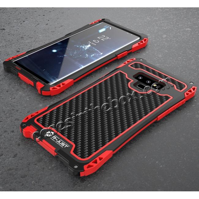 top quality Case For Samsung Galaxy Note 9 S9 Plus S10 Plus Shockproof Dust Water Proof Metal Aluminum Silicone Cover
