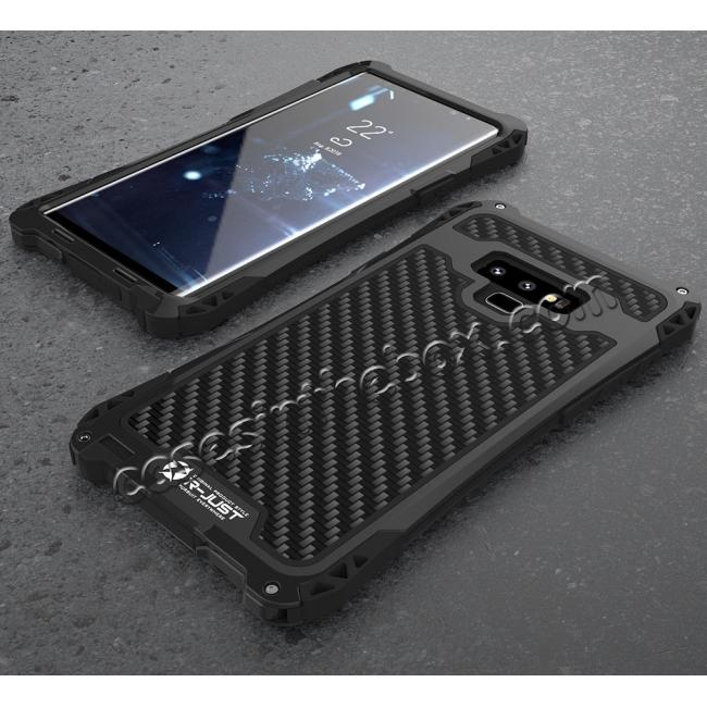 best price Case For Samsung Galaxy Note 9 S9 Plus S10 Plus Shockproof Dust Water Proof Metal Aluminum Silicone Cover