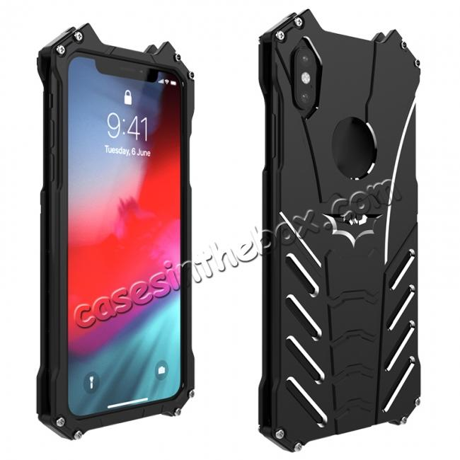 wholesale R-Just Shockproof Aluminium Case for iPhone XS Max