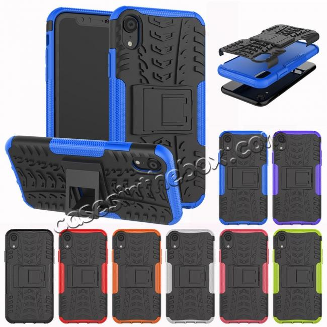 online retailer 231c3 caca0 Shockproof Hybrid Armor Rugged Hard Rubber Back Case Cover for iPhone Xs  Max XR XS
