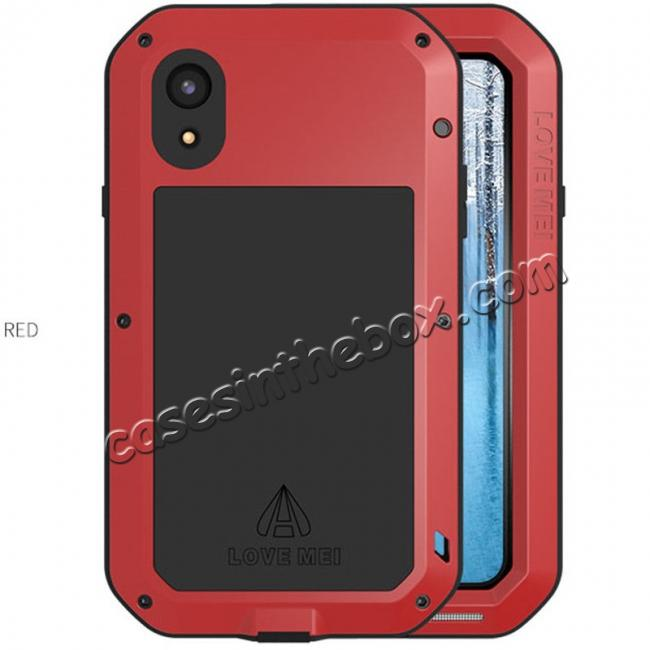 best price Waterproof Aluminum Gorilla Metal Cover Case For iPhone XS XR XS Max X 5 5S 6&6S 7 8 Plus