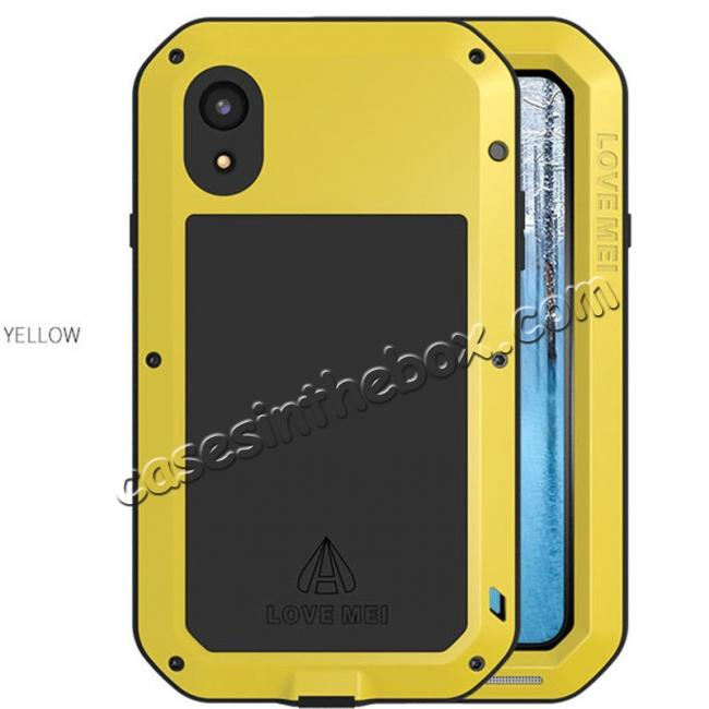 discount Waterproof Aluminum Gorilla Metal Cover Case For iPhone XS XR XS Max X 5 5S 6&6S 7 8 Plus