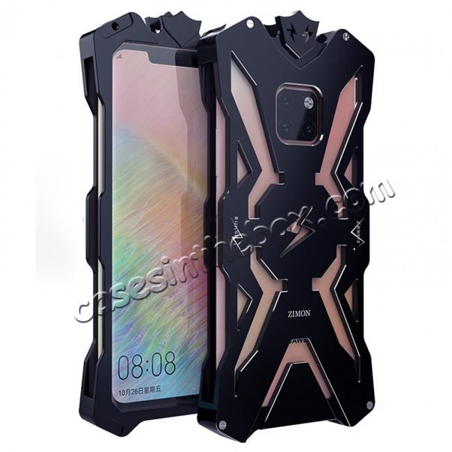 wholesale Shockproof Aluminum Metal Case for Huawei Mate 20 Pro - Black