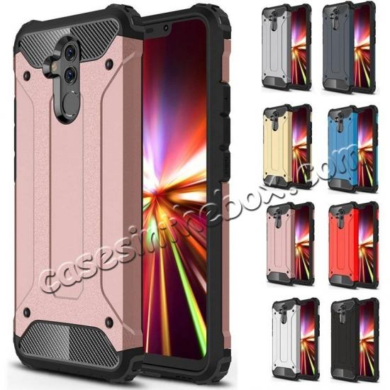 wholesale For Huawei Mate 20 Lite Pro Shockproof Armor Hybrid Hard Back Case Phone Cover