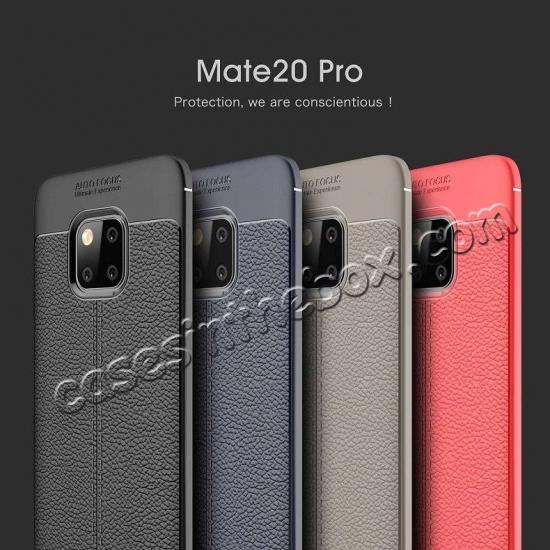 wholesale For Huawei Mate 20 Pro Mate 20 Lite Soft Silicone Leather Matte Case Cover