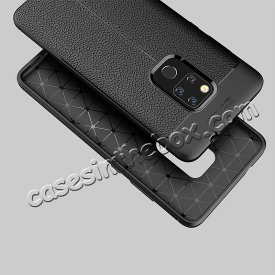 cheap For Huawei Mate 20 Pro Mate 20 Lite Soft Silicone Leather Matte Case Cover