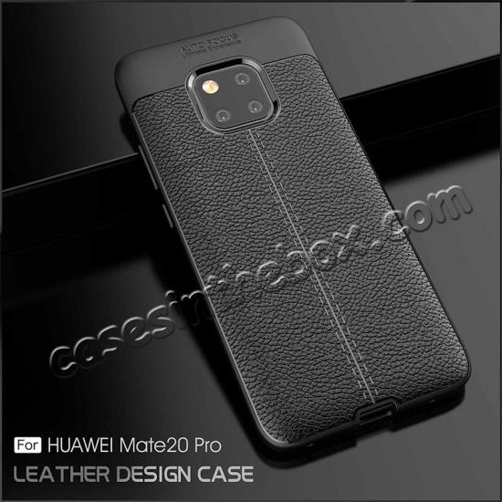 top quality For Huawei Mate 20 Pro Mate 20 Lite Soft Silicone Leather Matte Case Cover
