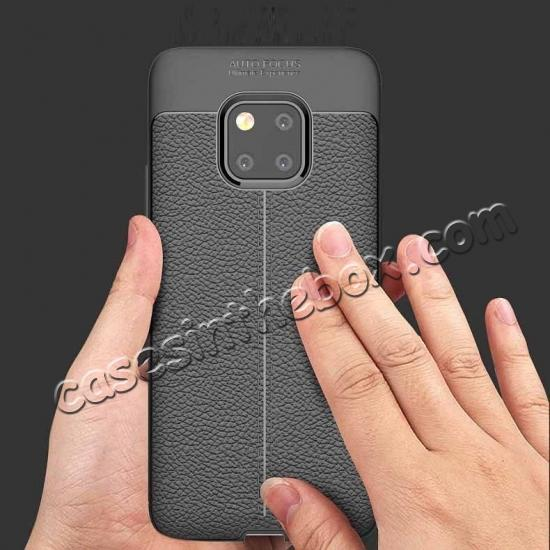 discount For Huawei Mate 20 Pro Mate 20 Lite Soft Silicone Leather Matte Case Cover