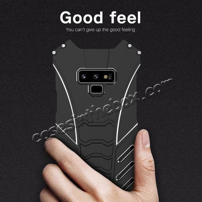 wholesale For Samsung Note 9 S9 Plus R-JUST Shockproof Bumper Protective Metal Case Cover