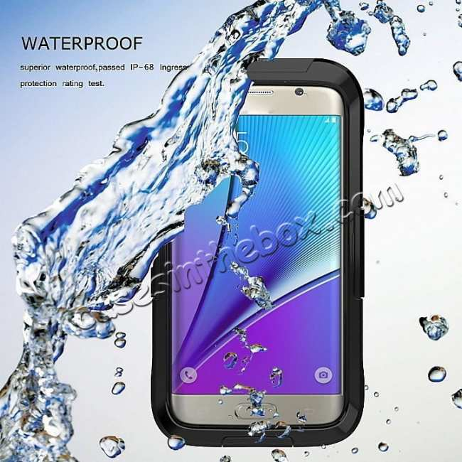 discount Waterproof Shockproof Dirtproof Hard Cover Case For Samsung Galaxy S9 Note 9 S8 Plus