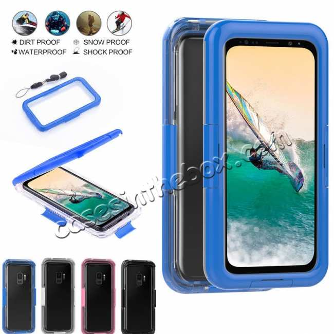 wholesale Waterproof Shockproof Dirtproof Hard Cover Case For Samsung Galaxy S9 Note 9 S8 Plus