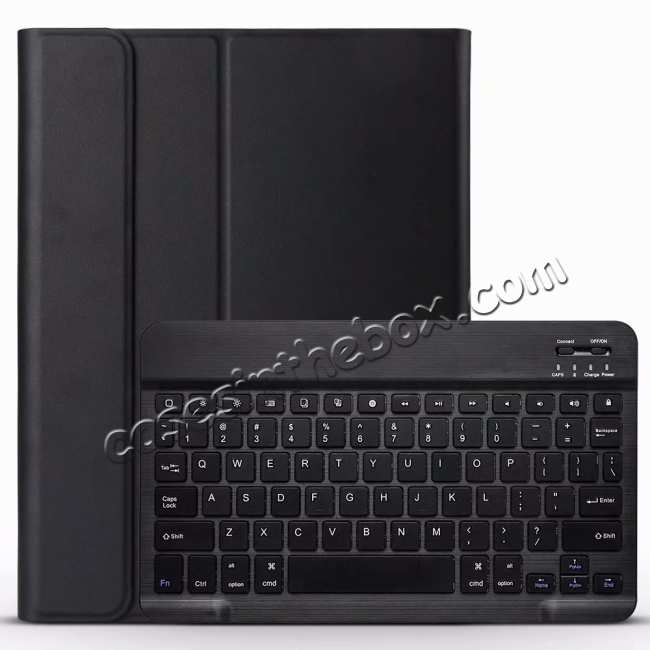 best price Bluetooth Keyboard Stand Leather Case for iPad Pro 11-inch - Black