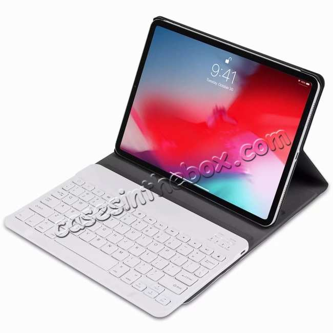 discount Bluetooth Keyboard Stand Leather Case for iPad Pro 11 12.9 2020