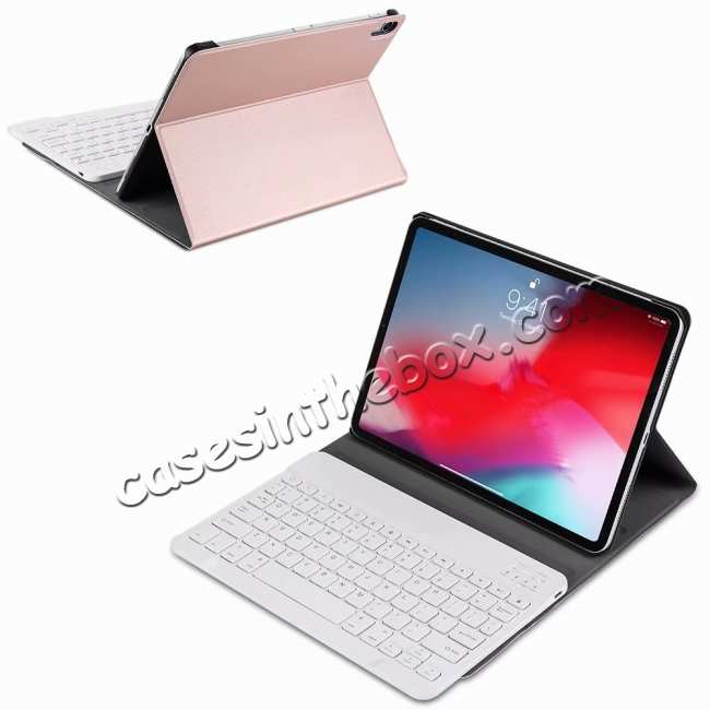 best price Bluetooth Keyboard Stand Leather Case for iPad Pro 11 12.9 2020