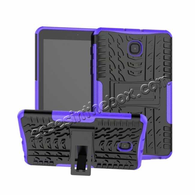 top quality Hybrid Rugged Hard Kickstand Case for Samsung Galaxy Tab A 8.0 2018 T387