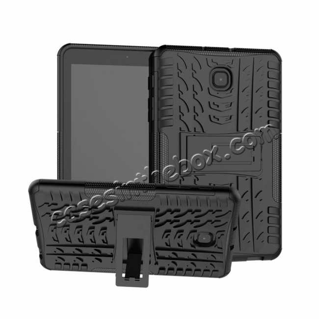 best price Hybrid Rugged Hard Kickstand Case for Samsung Galaxy Tab A 8.0 2018 T387