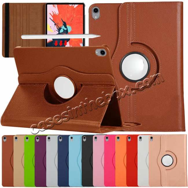 wholesale 360 Degrees Rotating Stand Leather Case For iPad Pro 11-inch