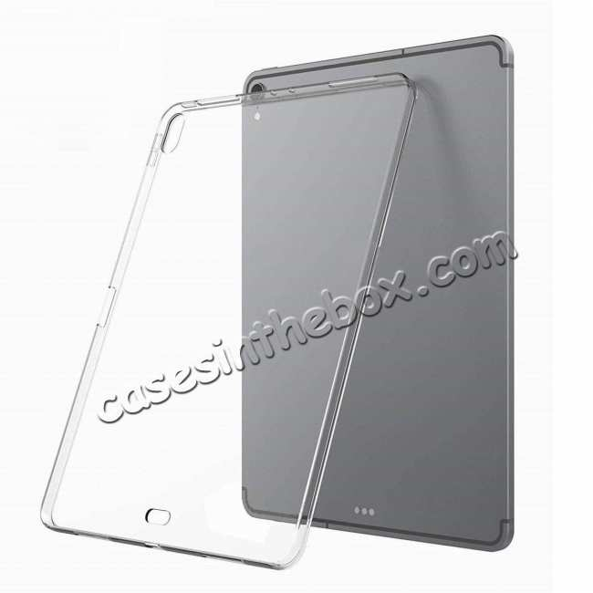 wholesale Ultra-thin Transparent Soft TPU Shockproof Case Cover for iPad Pro 11 inch