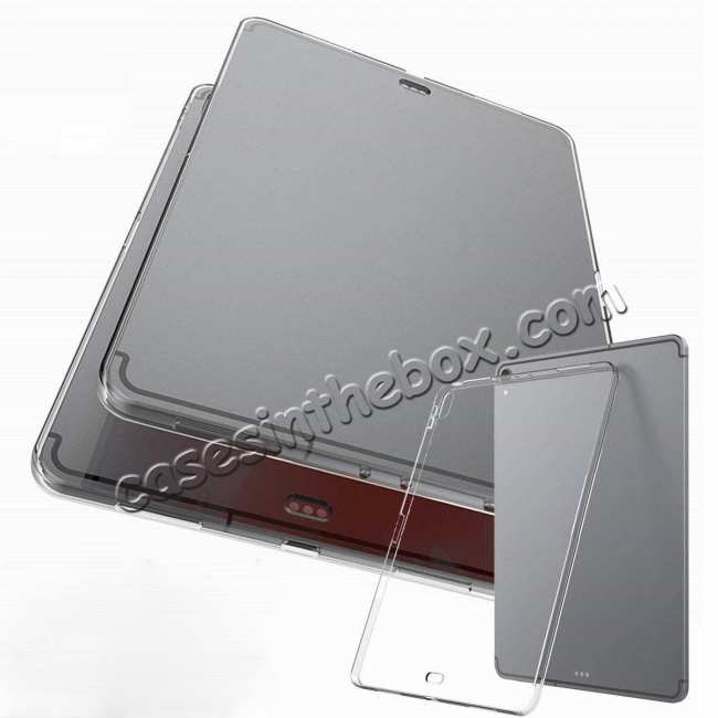 discount Ultra-thin Transparent Soft TPU Shockproof Case Cover for iPad Pro 11 inch