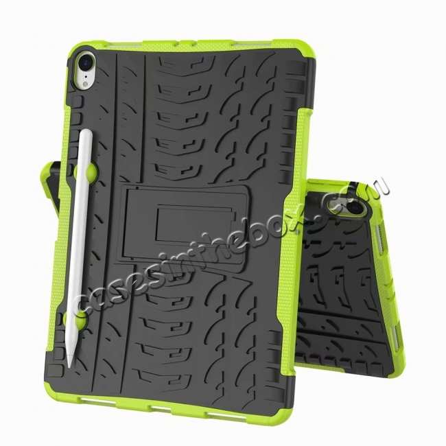 discount For iPad Pro 11-inch Dual Layer Hybrid Shockproof Kickstand Case - Green