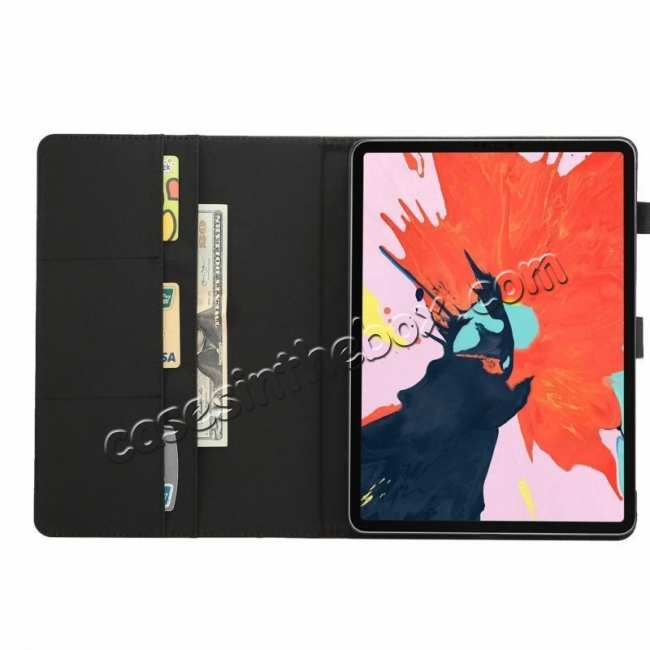 top quality Crazy Horse Leather Flip Stand Case for iPad Pro 2018 12.9/11