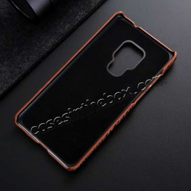 top quality 3D Crocodile Head Grain Genuine Leather Back Case for Huawei Mate 20 Series