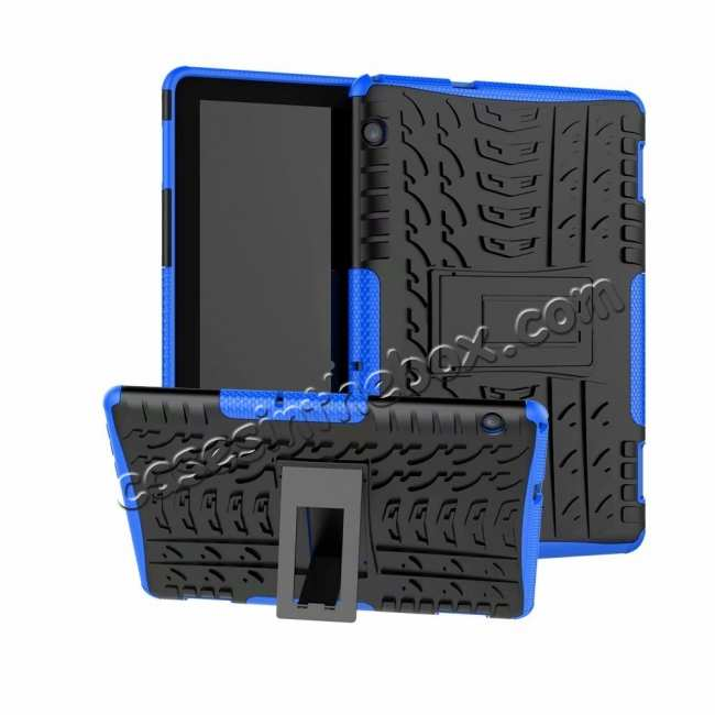 top quality Shockproof Hybrid Kickstand Case Cover for Huawei MediaPad M5
