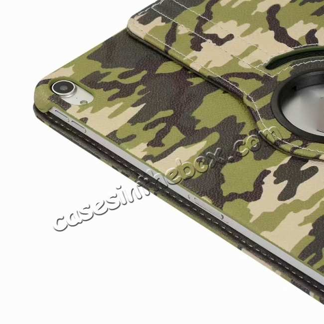 on sale 360 Rotating Camouflage Stand Leather Case For iPad Pro 11 inch