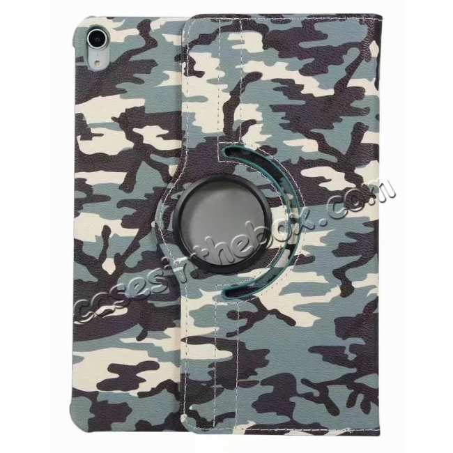 cheap 360 Rotating Camouflage Stand Leather Case For iPad Pro 11 inch