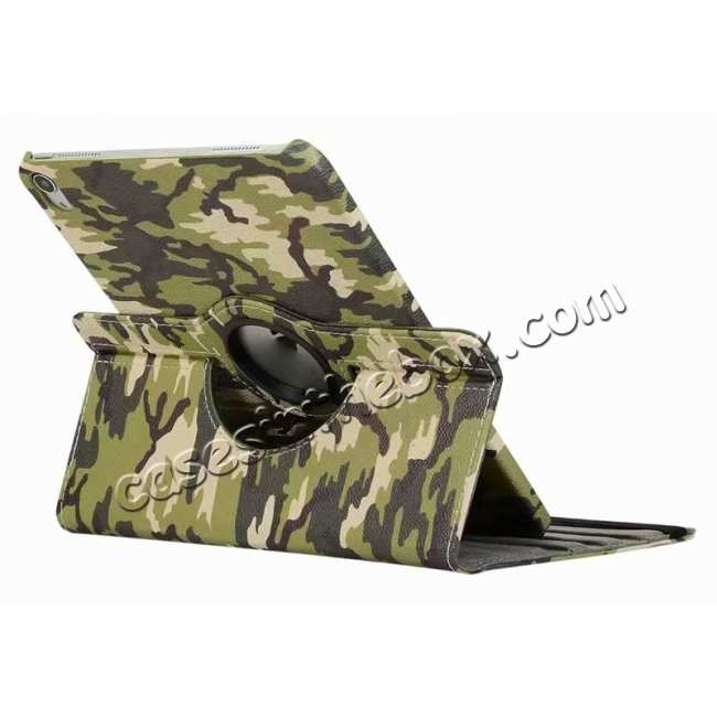 discount 360 Rotating Camouflage Stand Leather Case For iPad Pro 11 inch